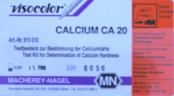 Calcium Test Macherey-Nagel