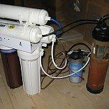 Sistema de ósmosis con bomba de refuerzo