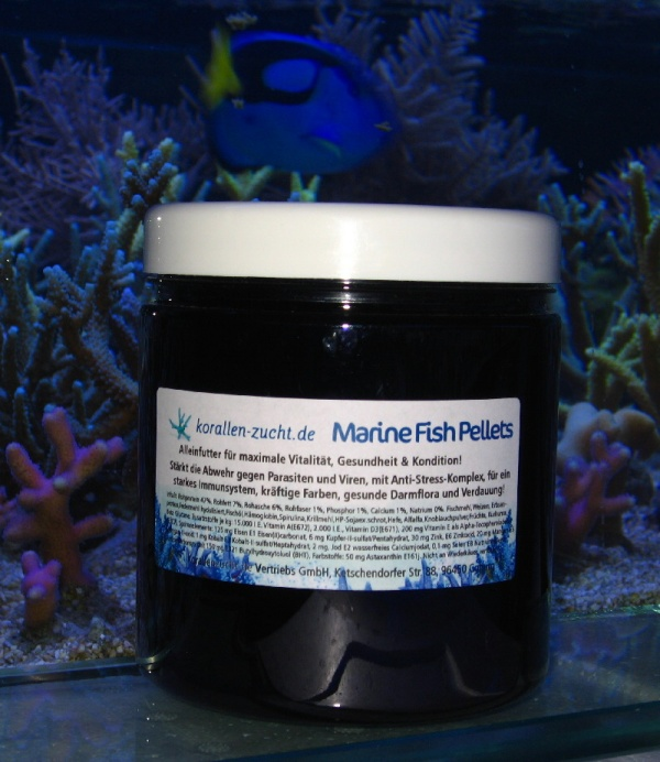 Marine Fish Pellets NEU 2 mm