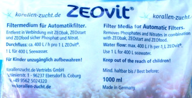 ZEOvit® for automatic filters