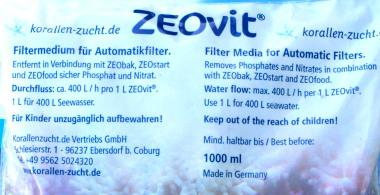 ZEOvit® pour Filtres Automatiques